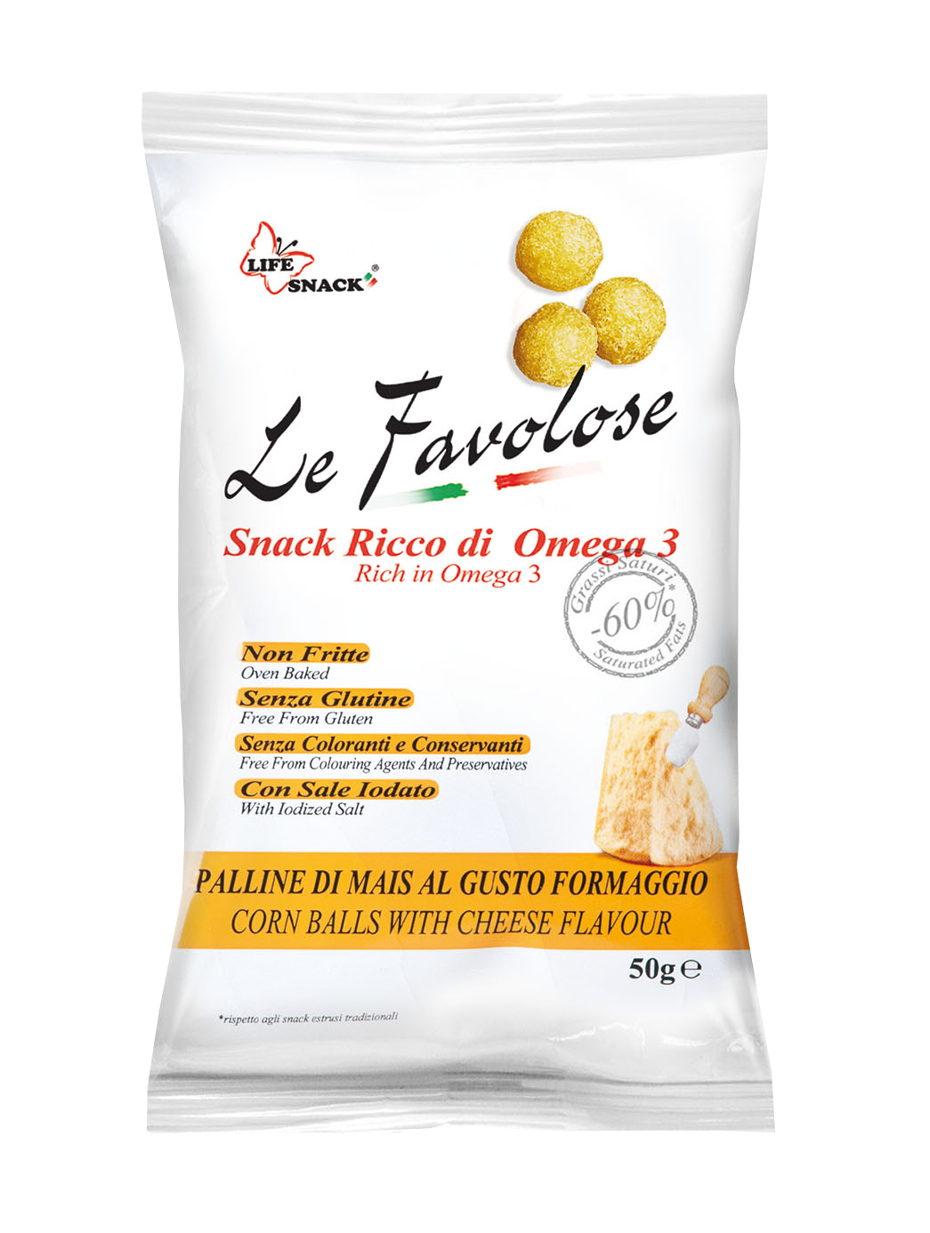 LE FAVOLOSE - cheese balls 50gr