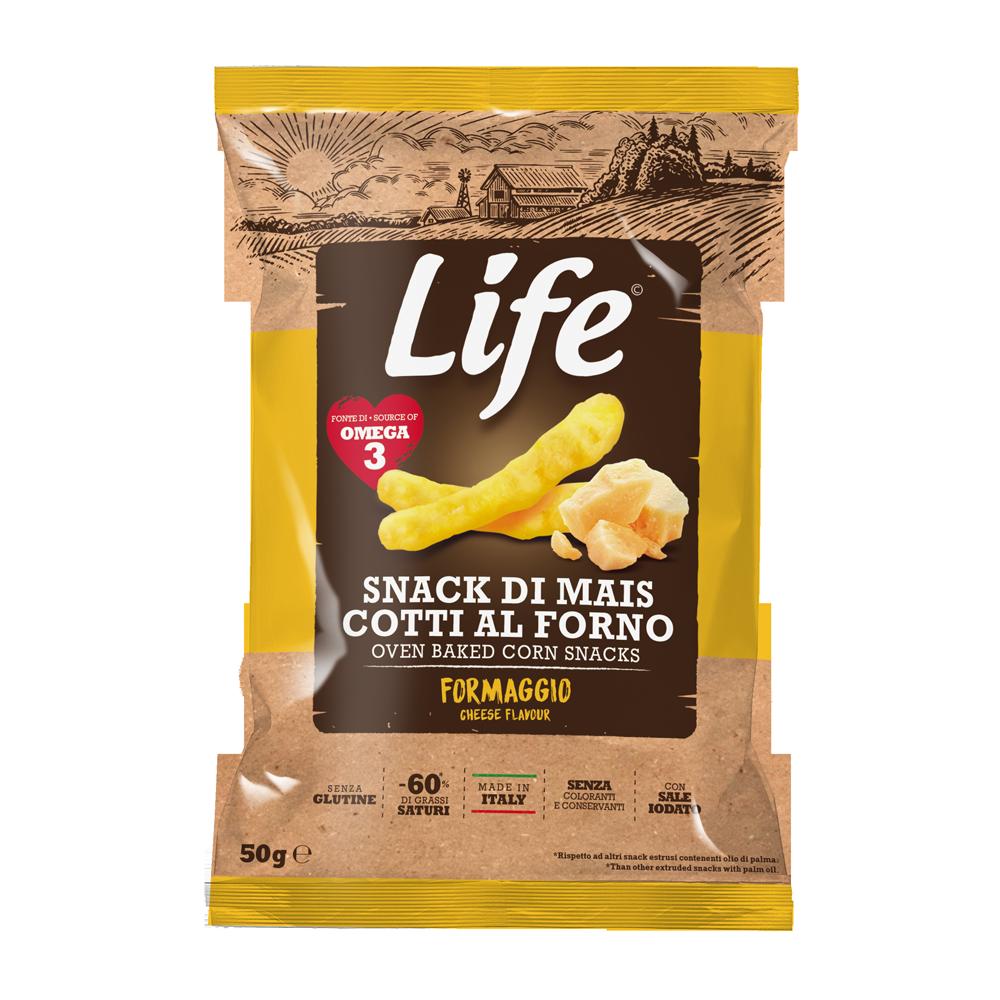 LIFE - cheese corn sticks 50gr